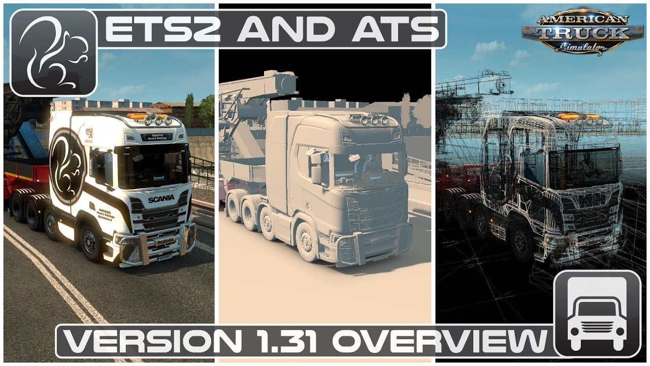 ATS Update 1.31 was released