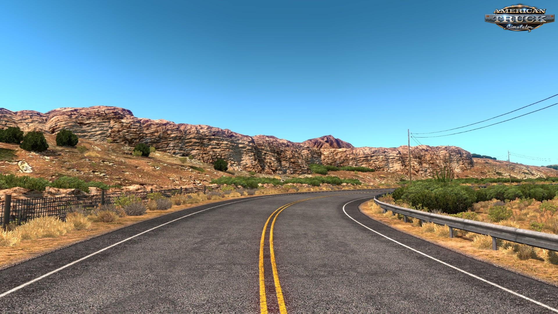 New Mountain Textures v7.0 (1.31.x) for ATS
