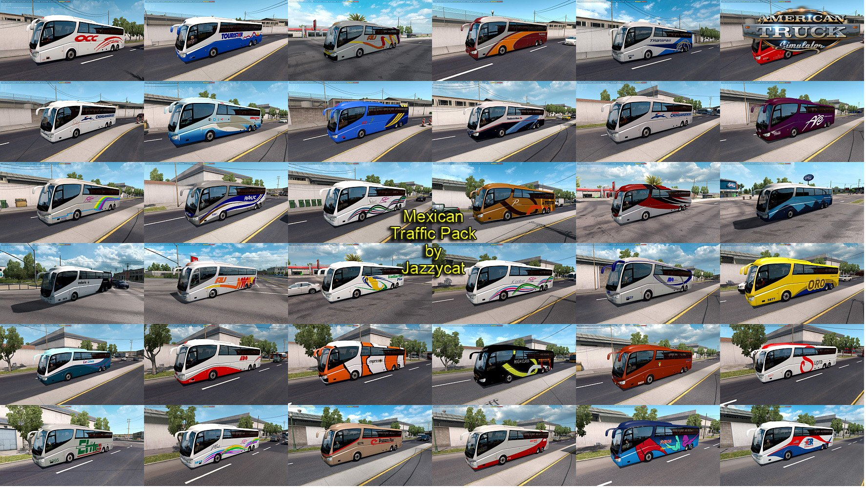 Mexican Traffic Pack v1.7 by Jazzycat
