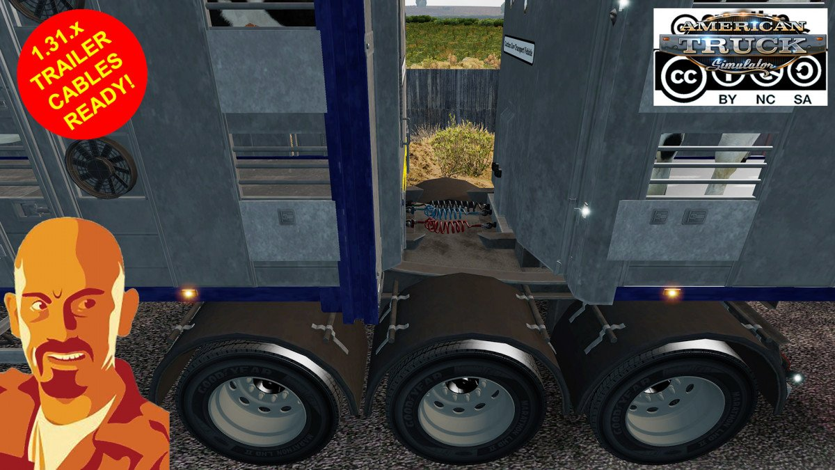 Fliegl Animals Trailer (Single & Double) for Ats