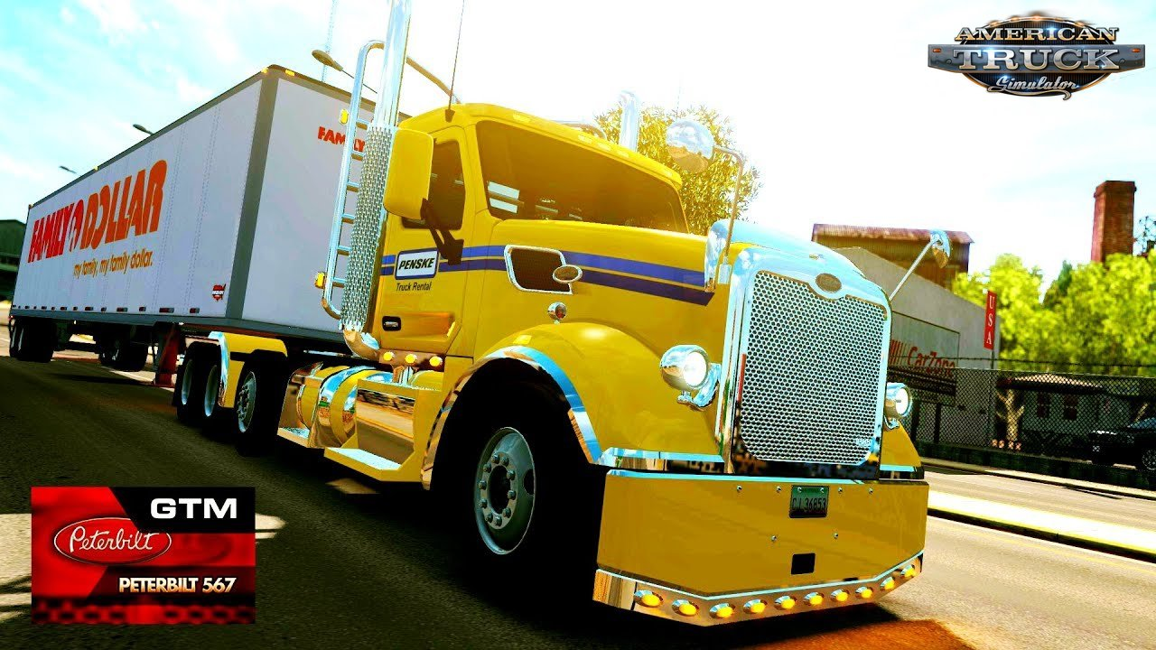Peterbilt 567 by GTM Team (1.31.x) - American Truck Simulator