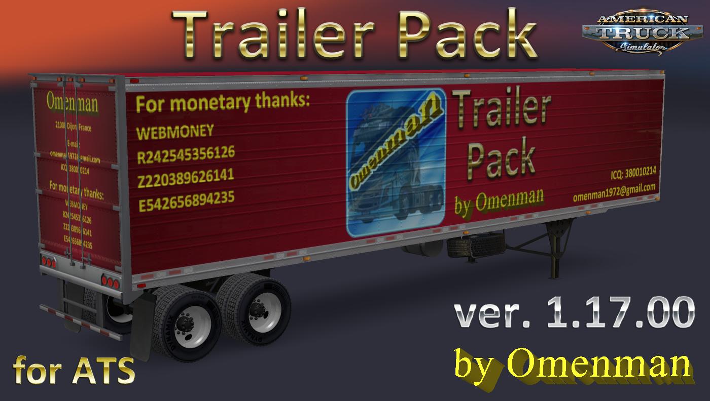 Trailer + Cargo Pack v1.17 by Omenman (1.31.x)