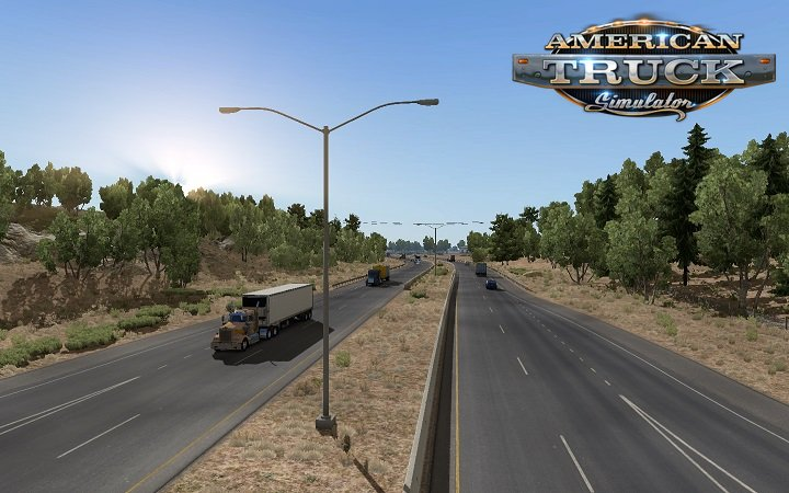 Clear Sky NO HDR weather mod for Ats by Piva