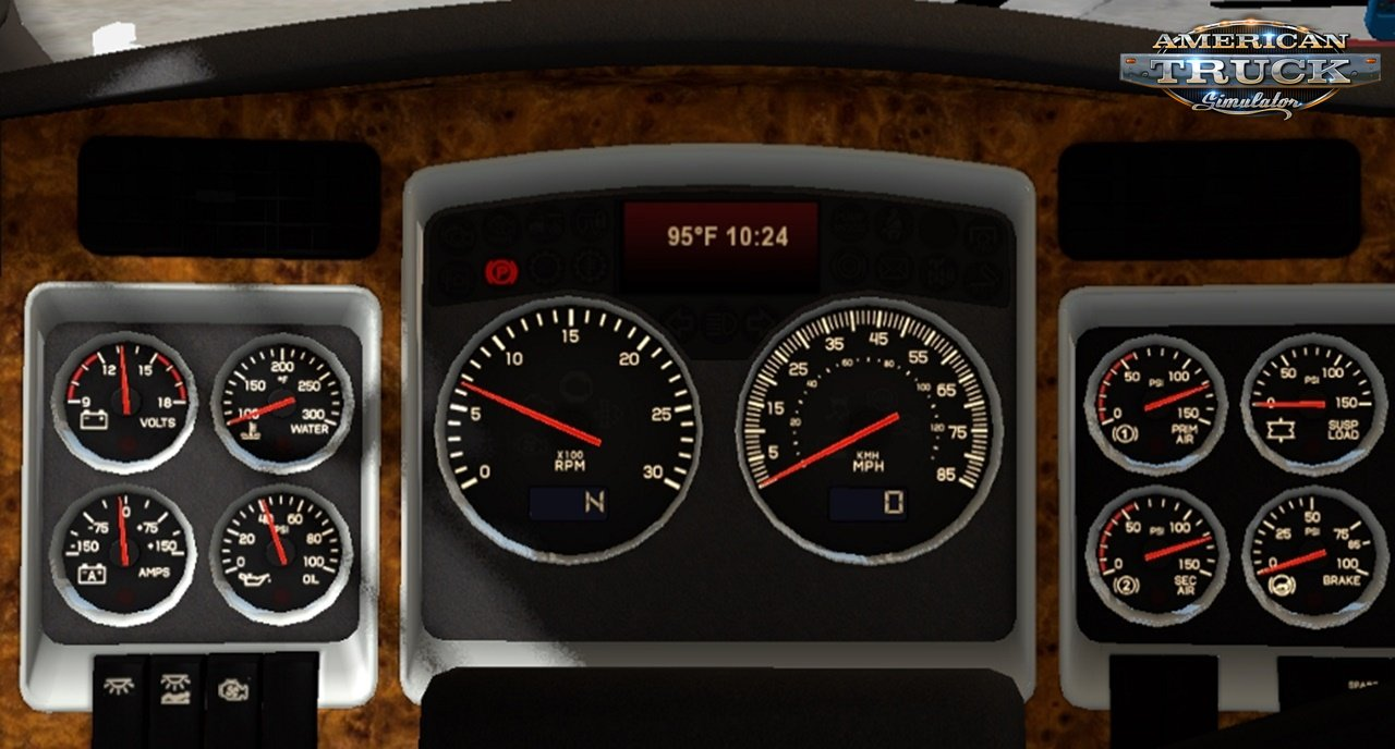 GTM T800 & W900B custom dashboard computers by Piva