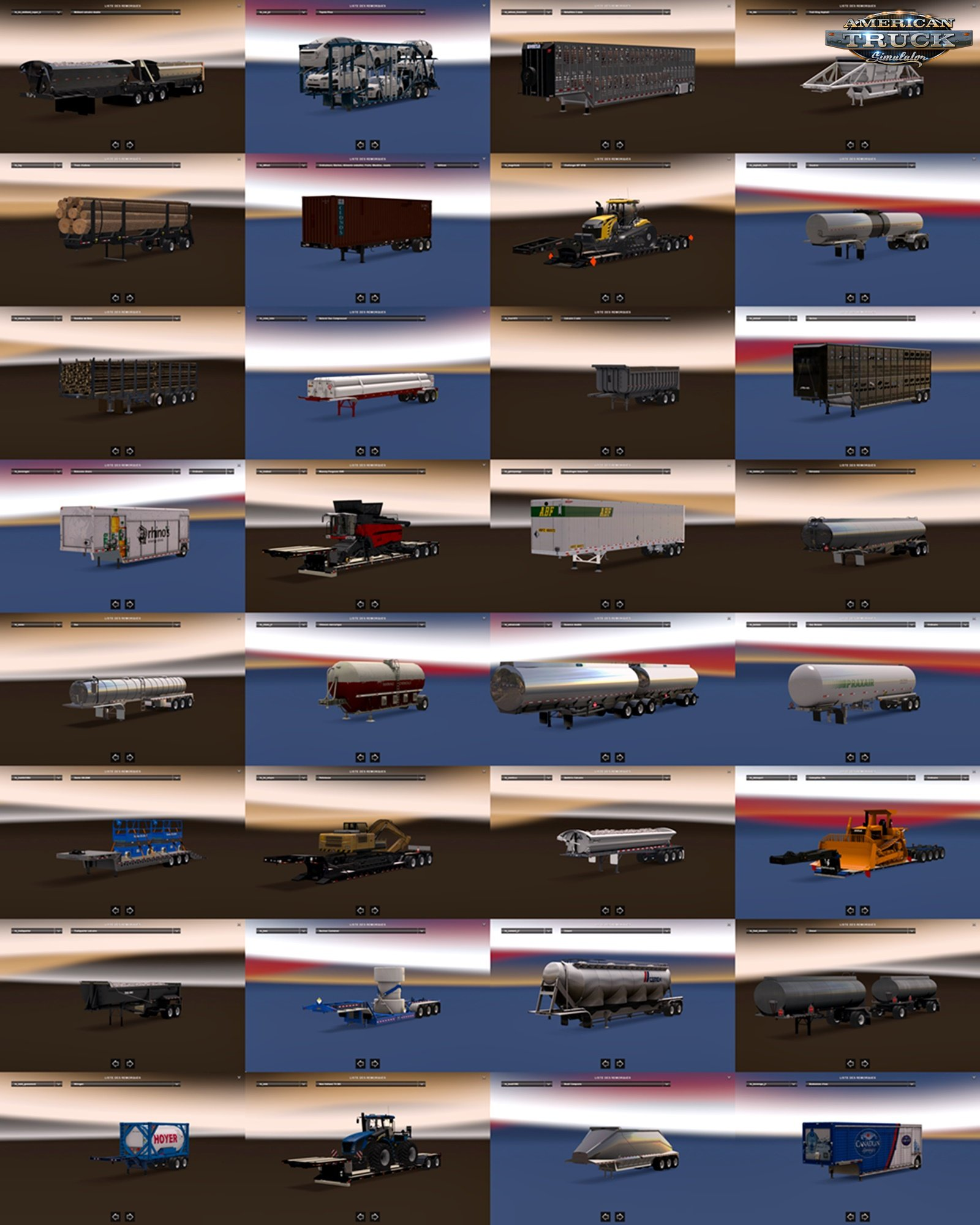 Trailer pack for Ats by Mahad