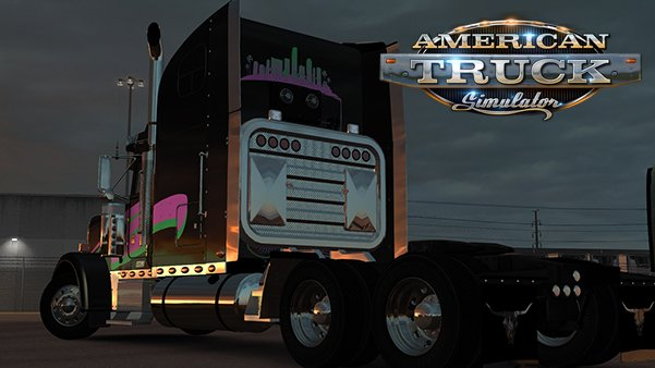 Miami Nights Skin for Freightliner Classic XL v1.0 by Chablo954 (1.31.x)