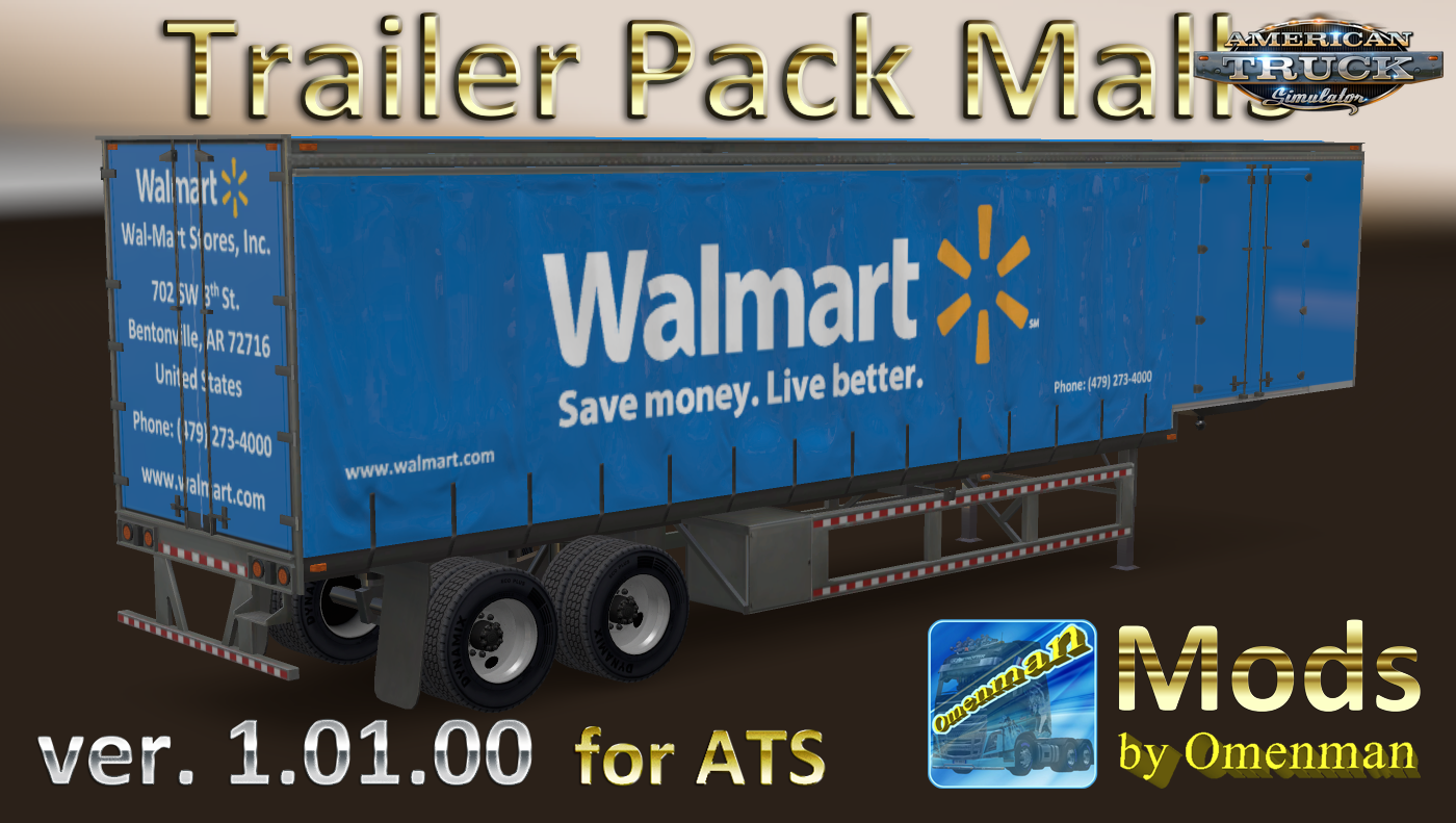 Trailer Pack Malls v.1.01.00 for Ats