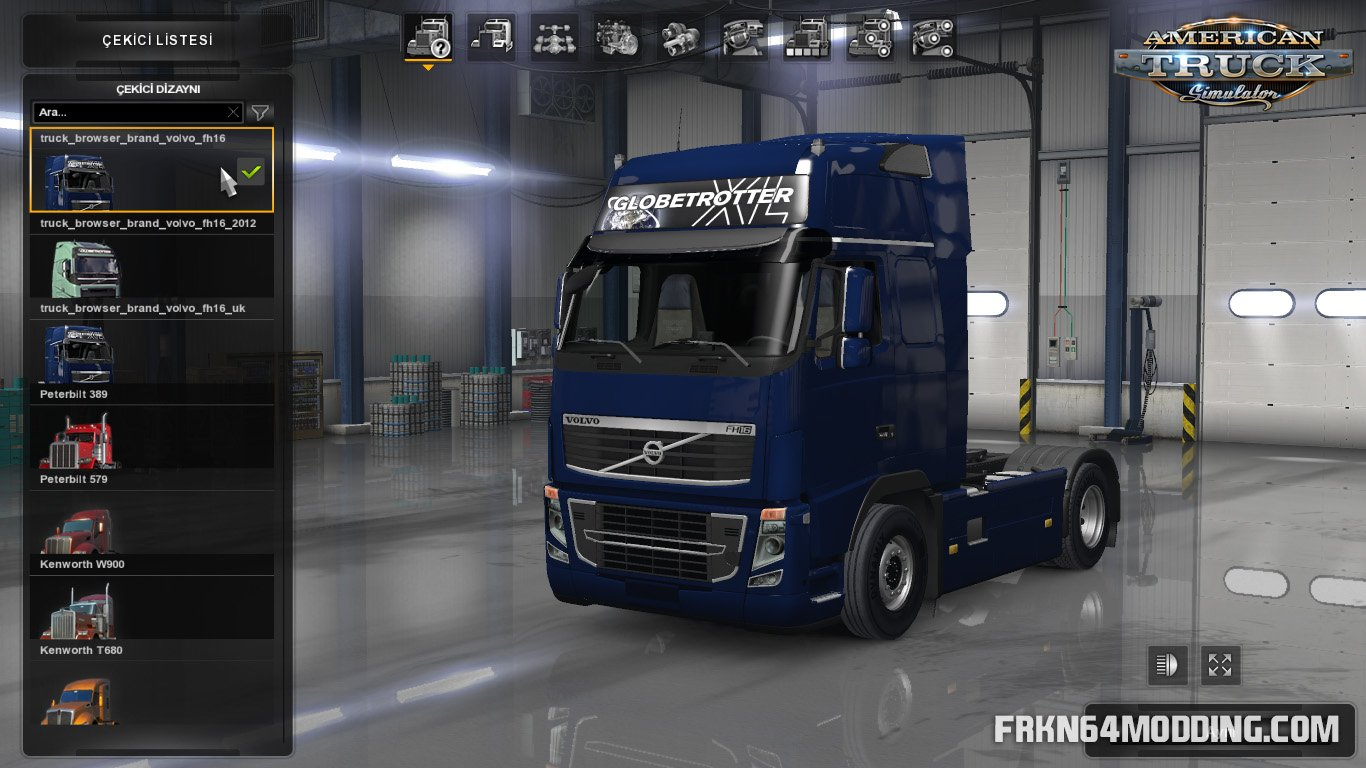 Volvo FH16 Trucks v4 0 by Frkn64 (1 33 x) for ATS | American