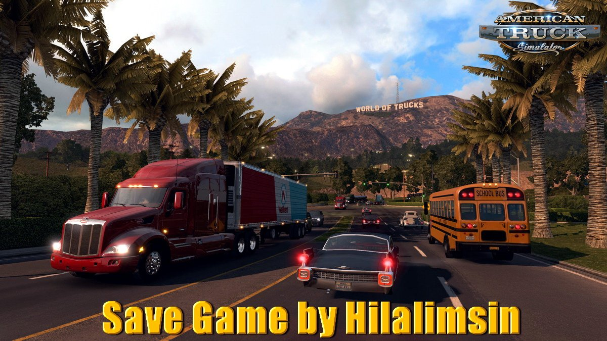 Save Game for ATS v1.0 by Hilalimsin (1.31.x)