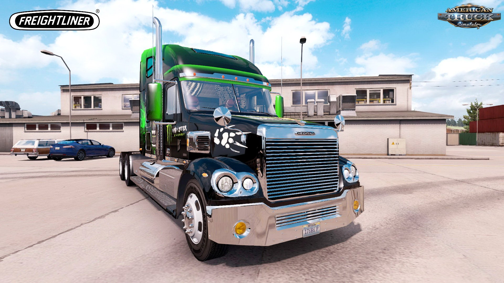Freightliner Coronado Modernization + Interior (Update + Fix) v1.0 (1.31.x)