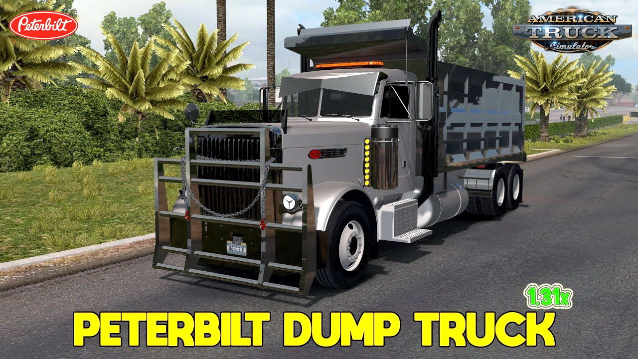 Peterbilt 379 Dump Truck + Interior (Update + Fix) v1.0 (1.31.x)
