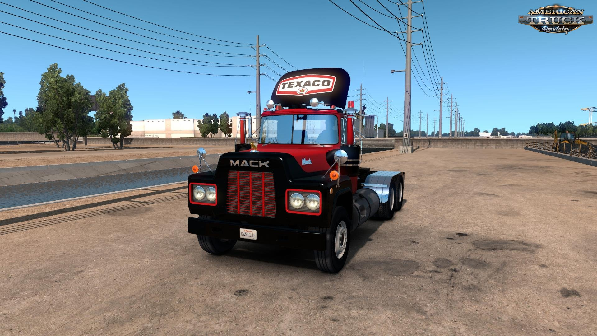 Texaco Skin for Mack R Truck v1.0 (1.31.x)