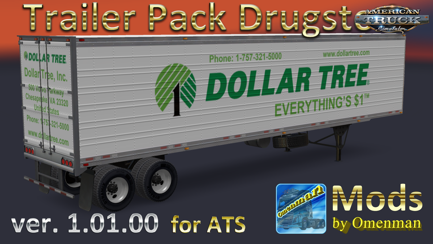 Trailer Pack Drugstore v.1.01.00 for Ats