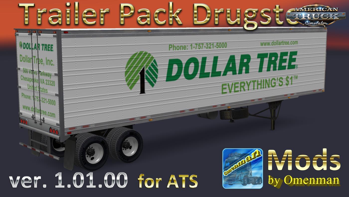 Trailer Pack Drugstore v.1.01.00 for Ats