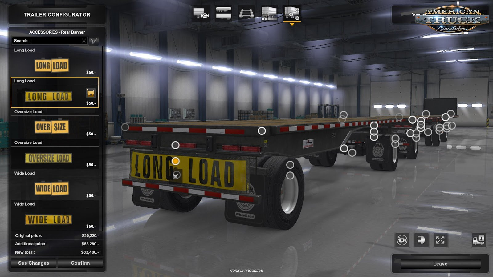 American Truck Simulator Update 1.32 Open Beta