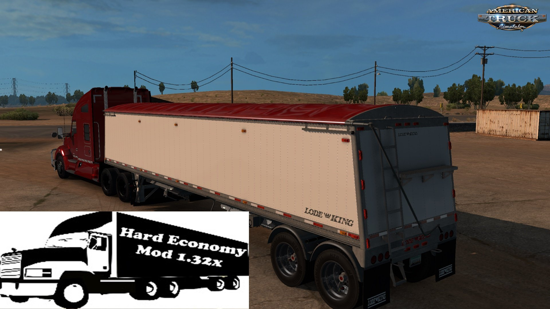 Hard Economy Mod for Ats (1 32 beta) » ATS mods | American