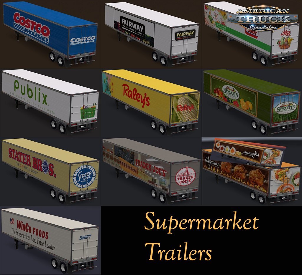 Supermarket Trailers for Ats