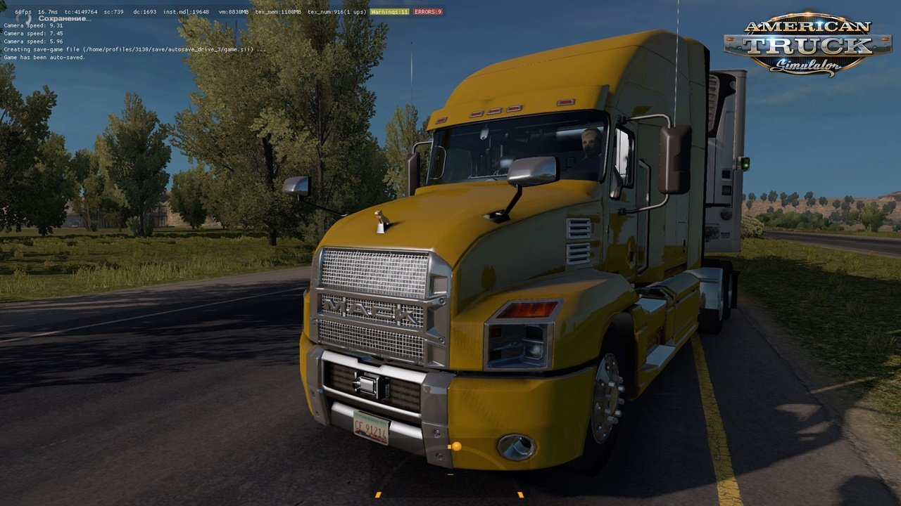 Mack Anthem 2018 in Traffic for ATS [1.32.x]