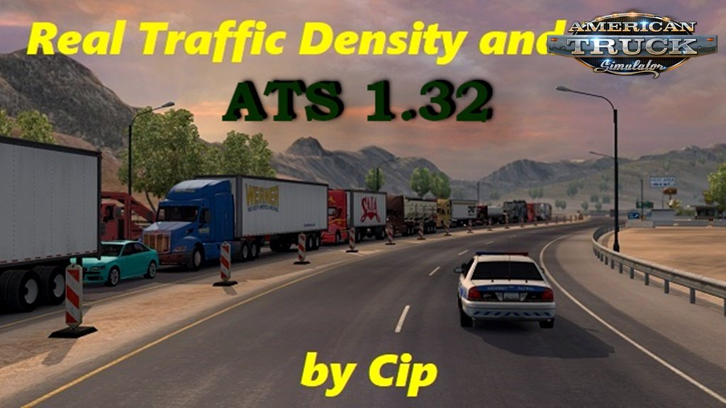 Real Traffic Density and Ratio 1.32.b by Cip for Ats