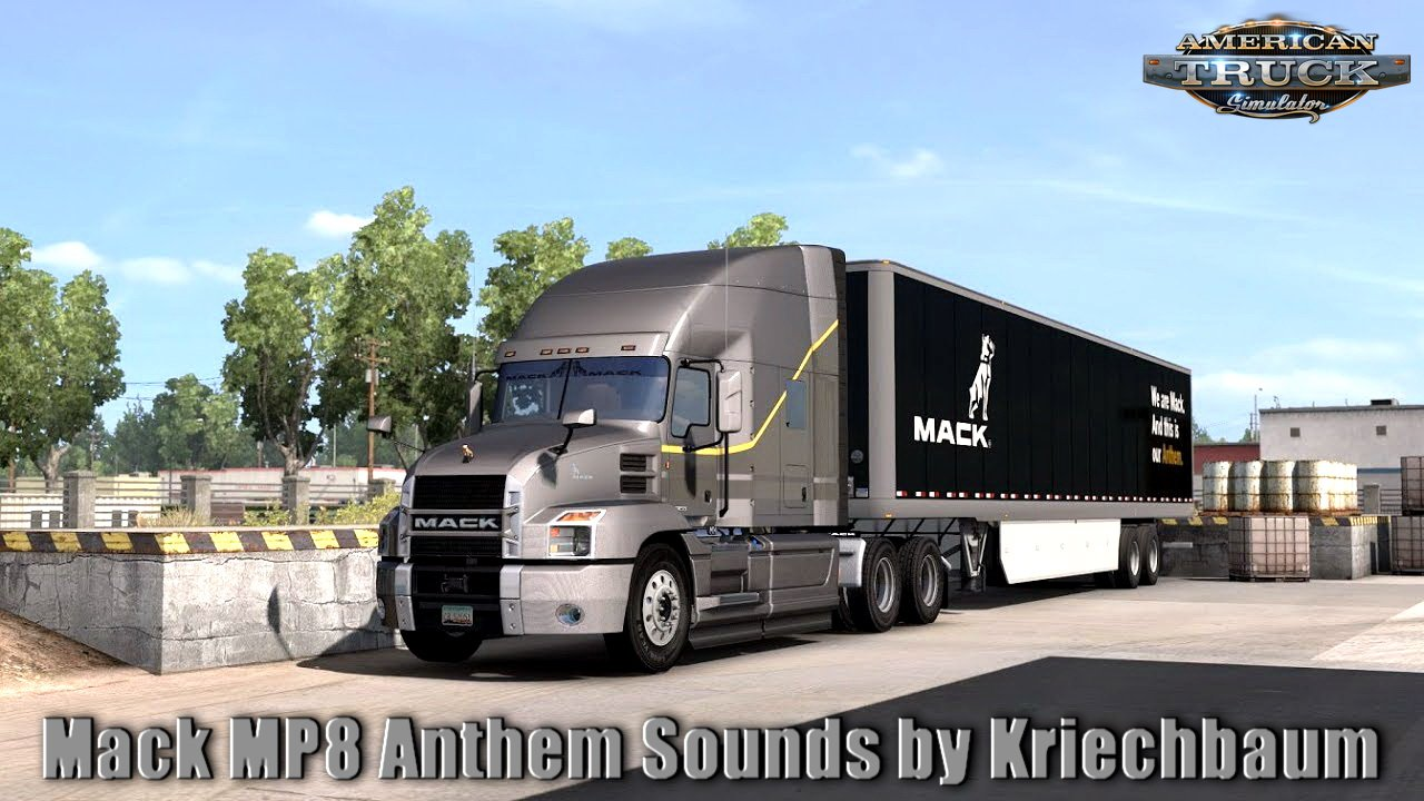 Mack MP8 Anthem Sounds v1.0 by Kriechbaum (1.32.x)