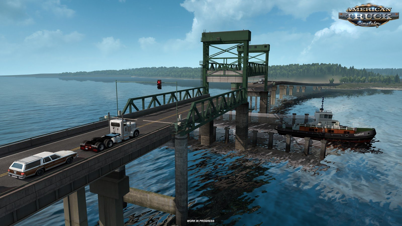 Bridges of Oregon in American Truck Simulator
