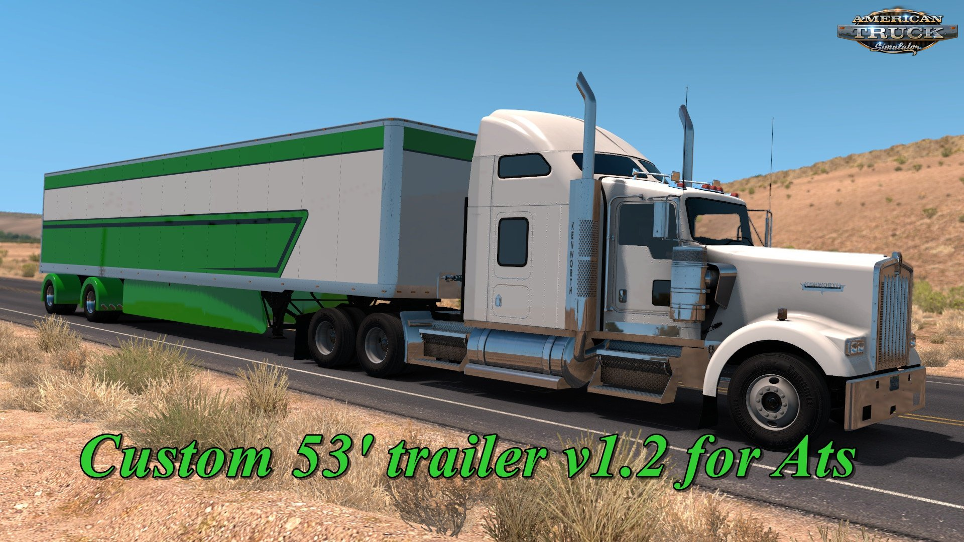 Custom 53' trailer v1.2 for Ats
