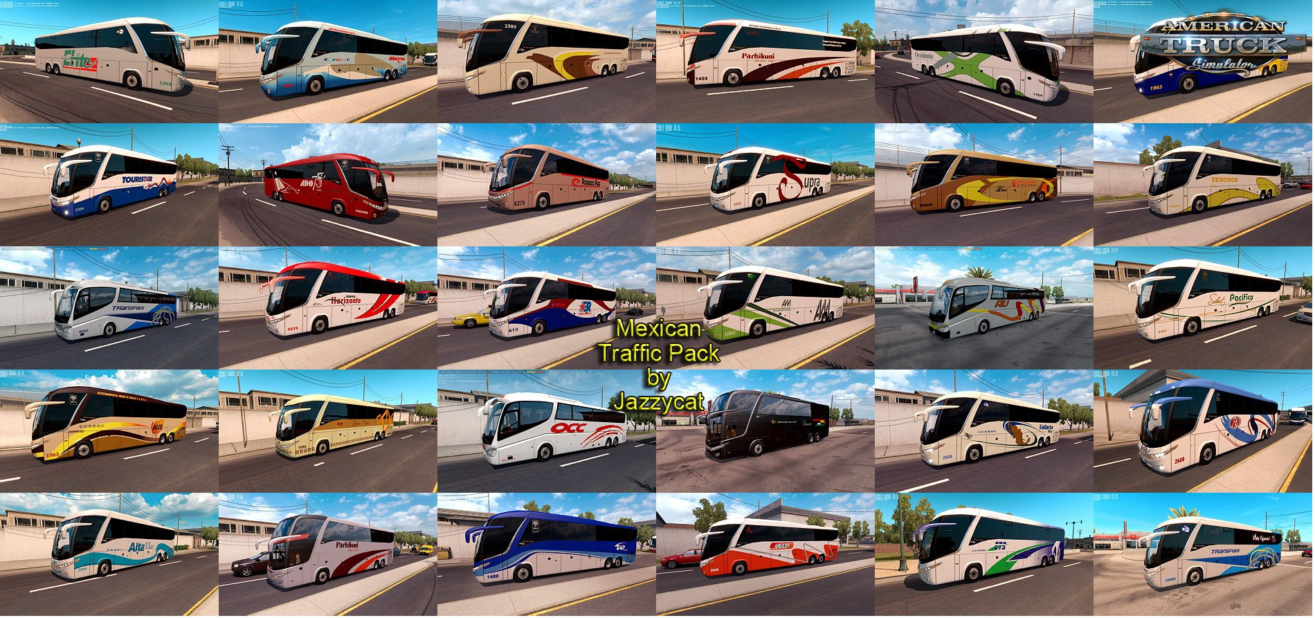 Mexican Traffic Pack v1.8 by Jayyzcat (1.33.x)