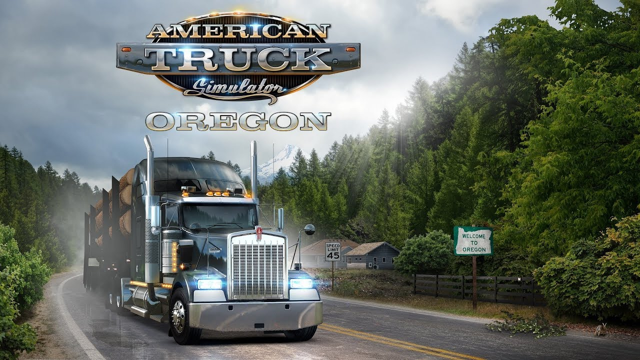 Oregon DLC - Gameplay videos for ATS