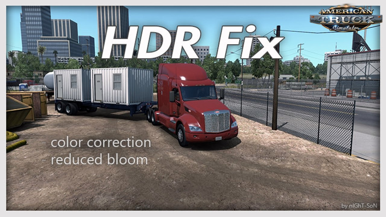 HDR Fix v1.5.3 for Ats by nIGhT-SoN