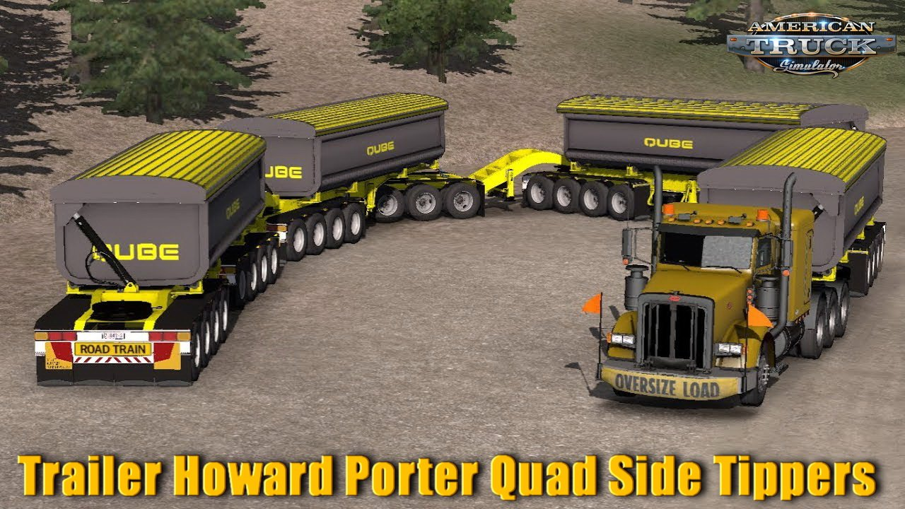 Trailer Howard Porter Quad Side Tippers v1.0 (1.32.x)