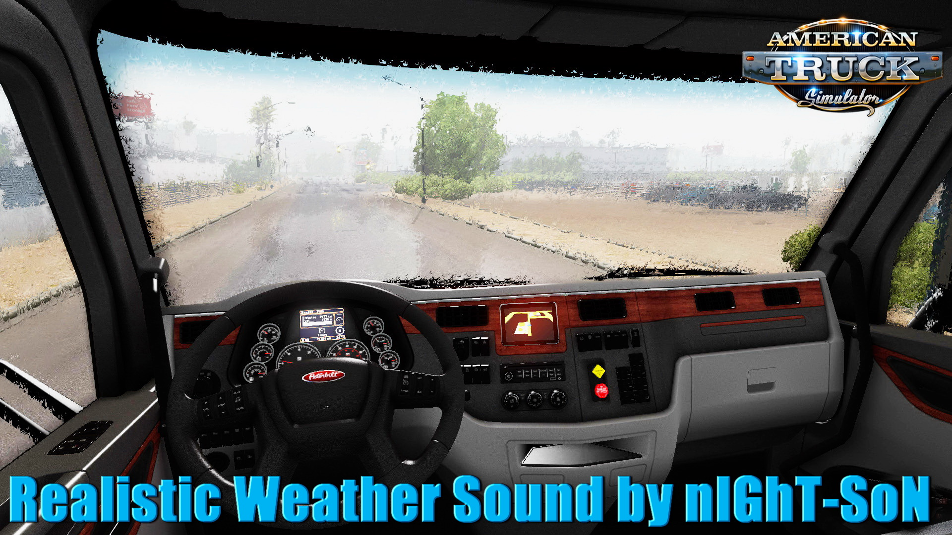 Realistic Weather Sound v1.7.9 by nIGhT-SoN (1.32.x)