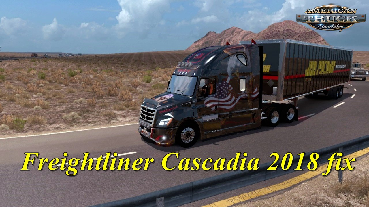 Freightliner Cascadia 2018 v1.11 Edit by galimim (1.35.x) for ATS