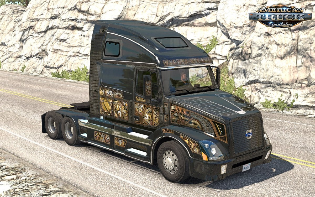 SCS Steam Punk Skin for VNL 670 ATS (Aradeth) v1.0 (1.32.x)