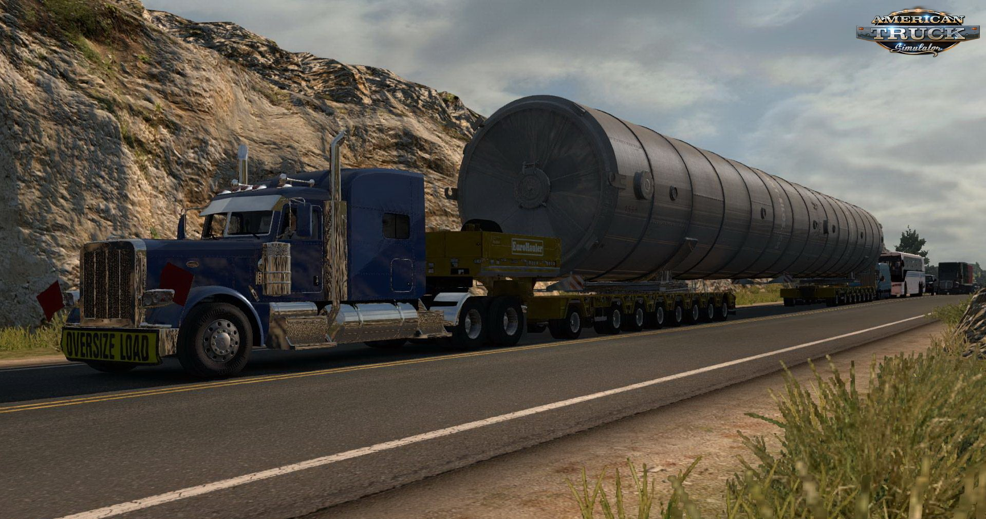 Arcon Oversize Cargo Pack With Mega Silo v2.0 (1.32.x) (ATS)