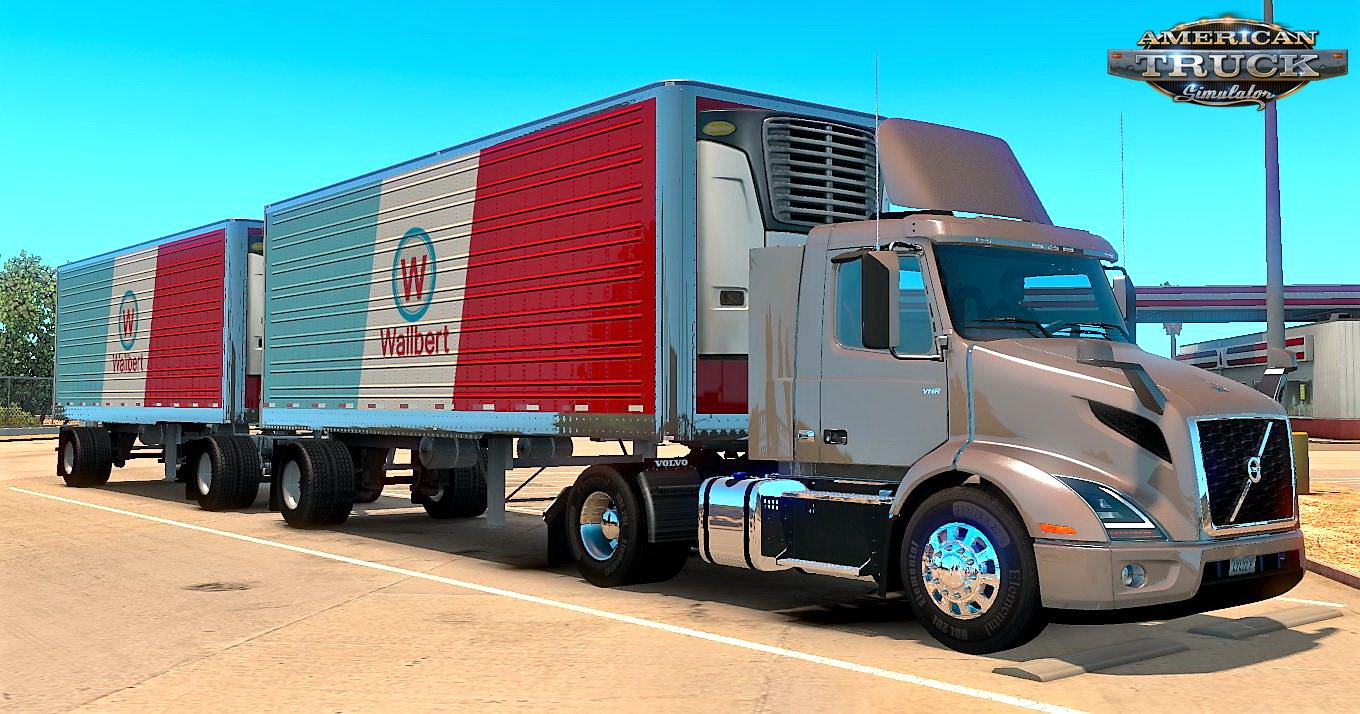 Volvo VNR + Interior v1.22 for ATS (1.36.x)