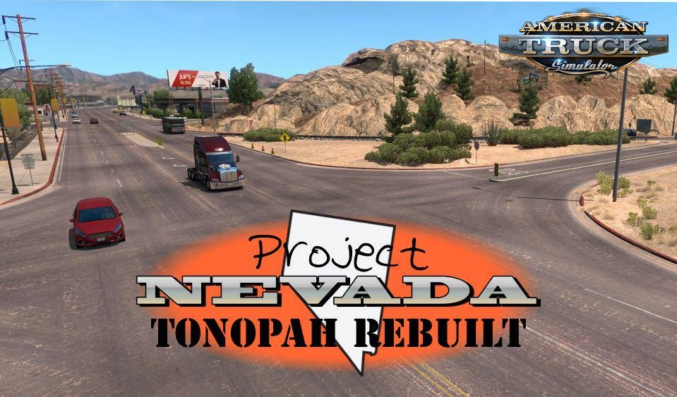 Tonopah REBUILT v1.1 by hoseclamp72 (1.33.x) for ATS