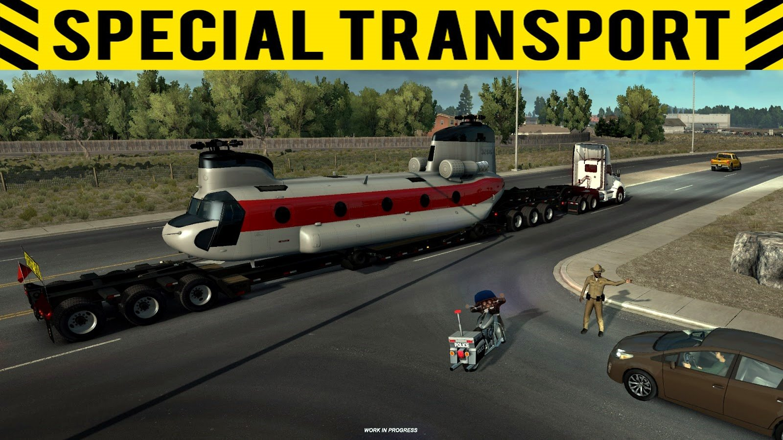 ATS: Special Transport - State of progress