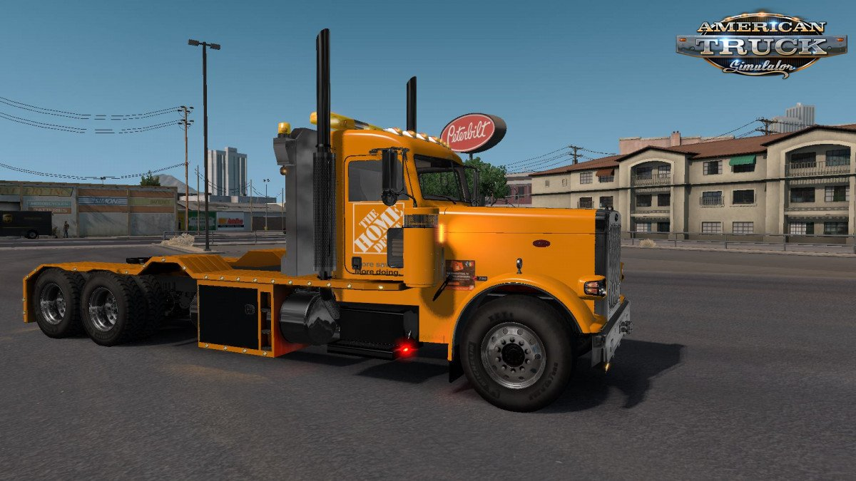 Home Depot Skin for Peterbilt 389 Viper v1.0 (1.32.x)