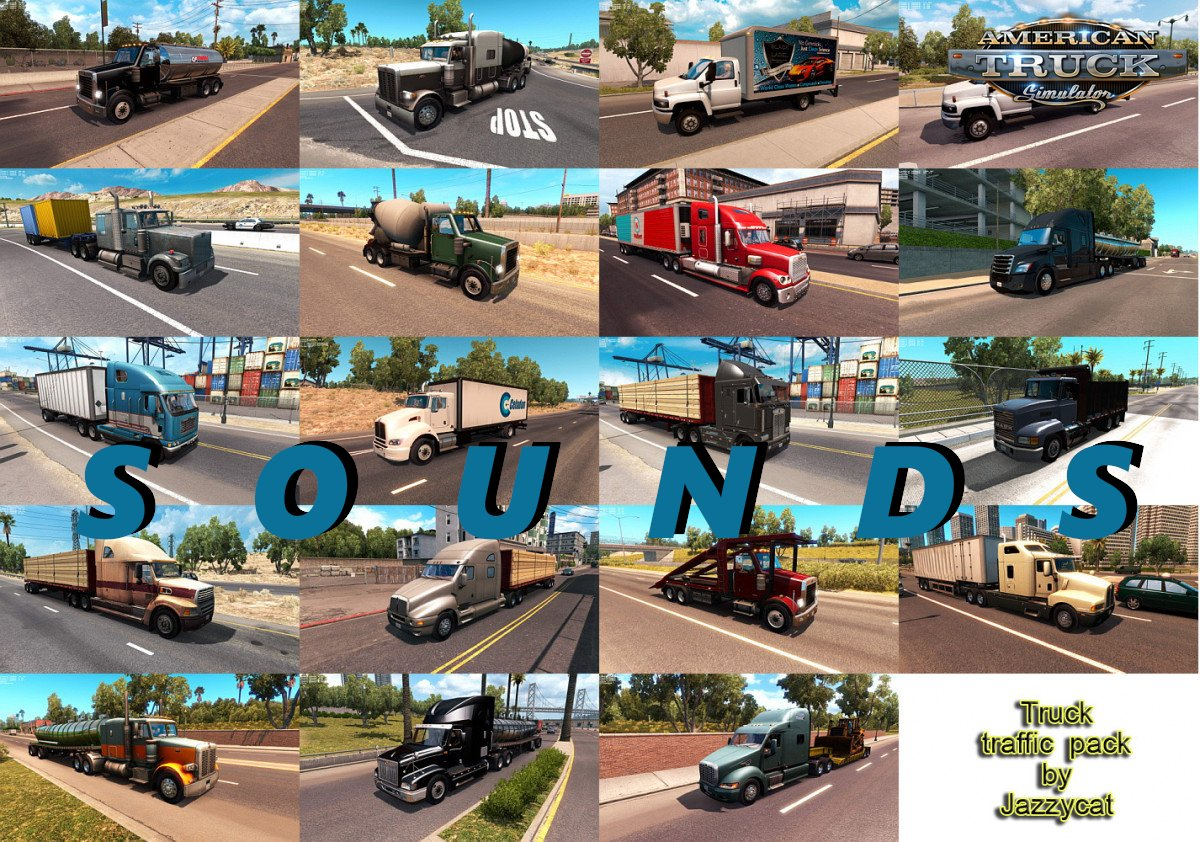 Sounds for Truck Traffic Pack by Jazzycat v1.9.1 [1.32.x]