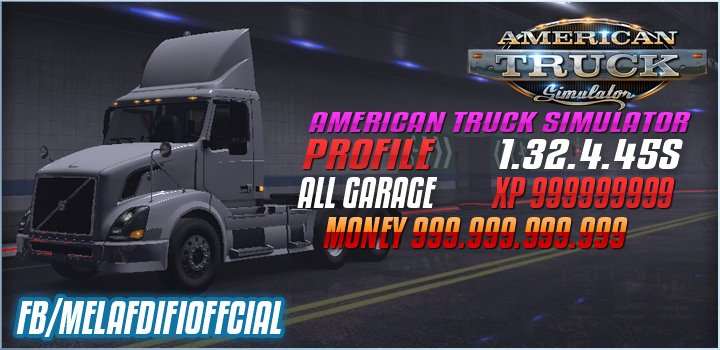 Save Game For ATS (No DLC Required) (1.32.x)