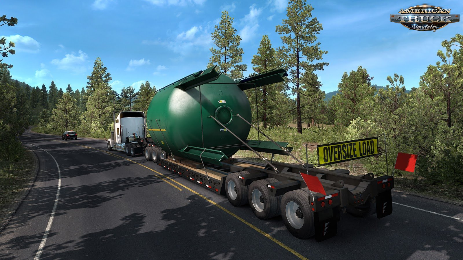 SPECIAL TRANSPORT MOD FOR ATS | HUGE OVERSIZED GRAIN SILO