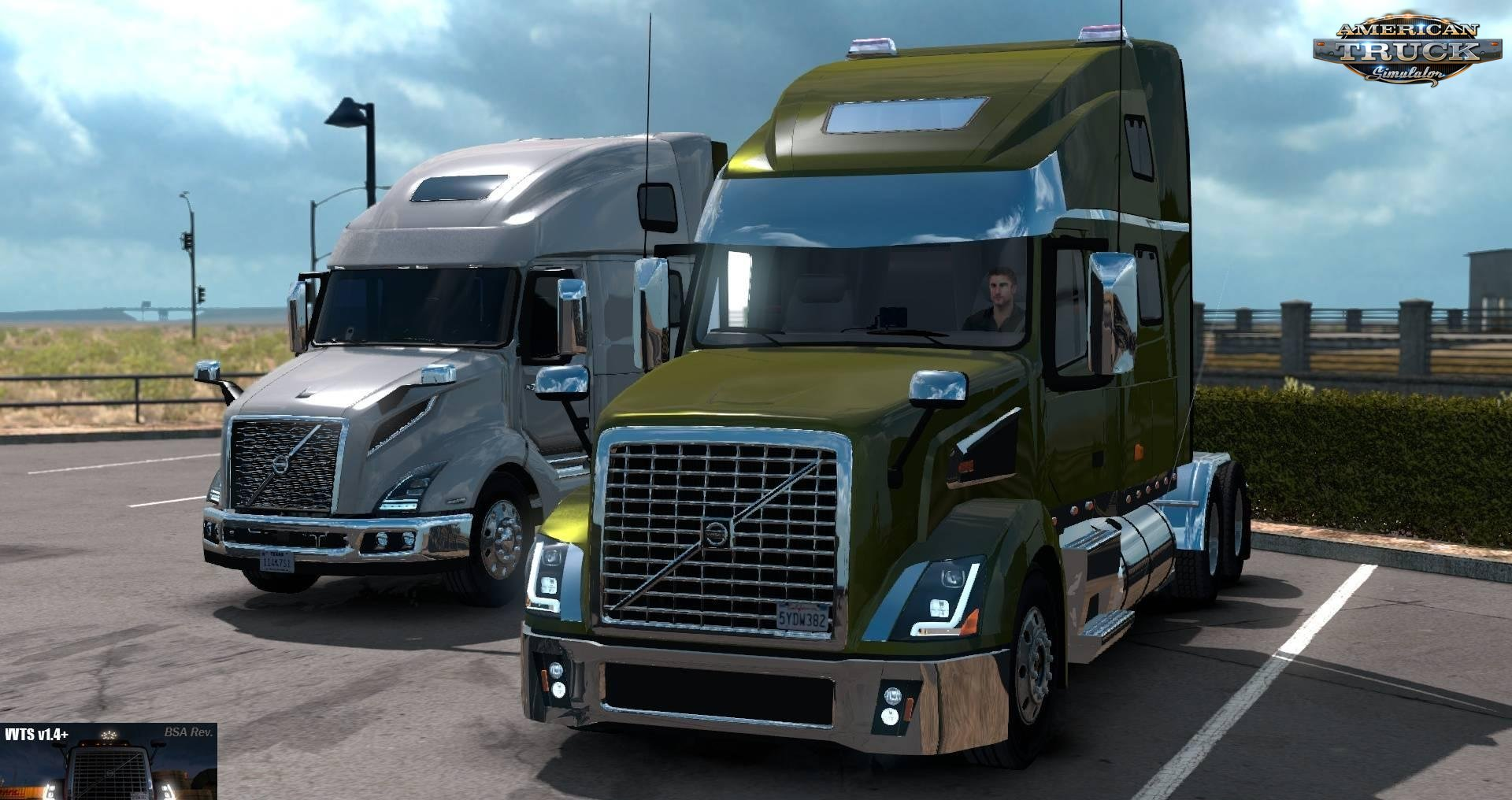 Volvo VNL Truck Shop v1.4+ (BSA Revision) (1.35.x) for ATS