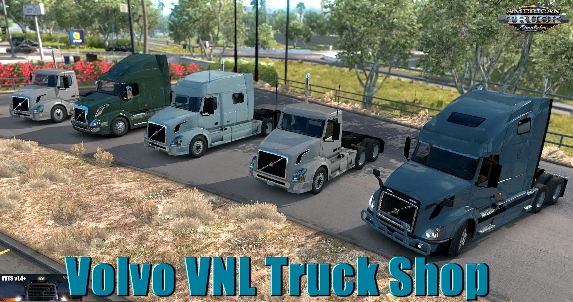 Volvo VNL Truck Shop v1.4+ (BSA Revision) for ATS [1.32.x]