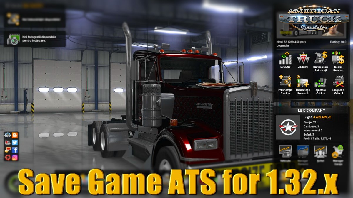Save Game ATS for 1.32.x