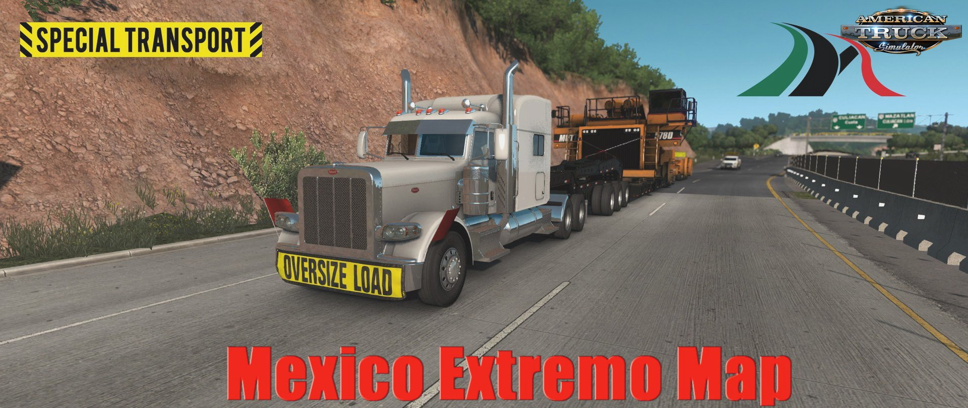 Mexico Extremo Map v2.0.5 (Update) for ATS (1.32.x)
