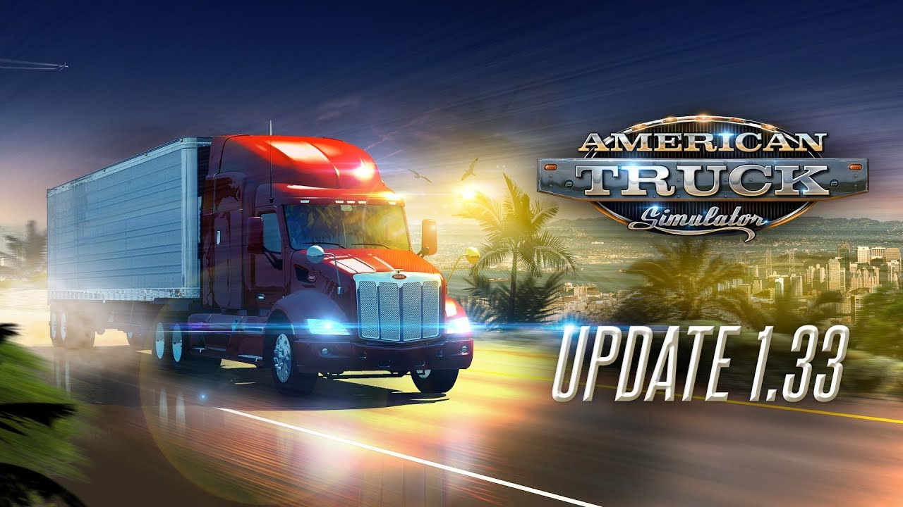 Download Update 1.33 for American Truck Simulator