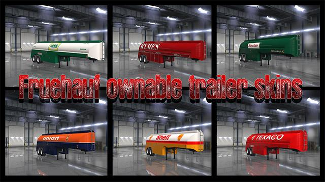 Fruehauf Ownable Trailer Skins v1.0 by Pauly (1.33.x)