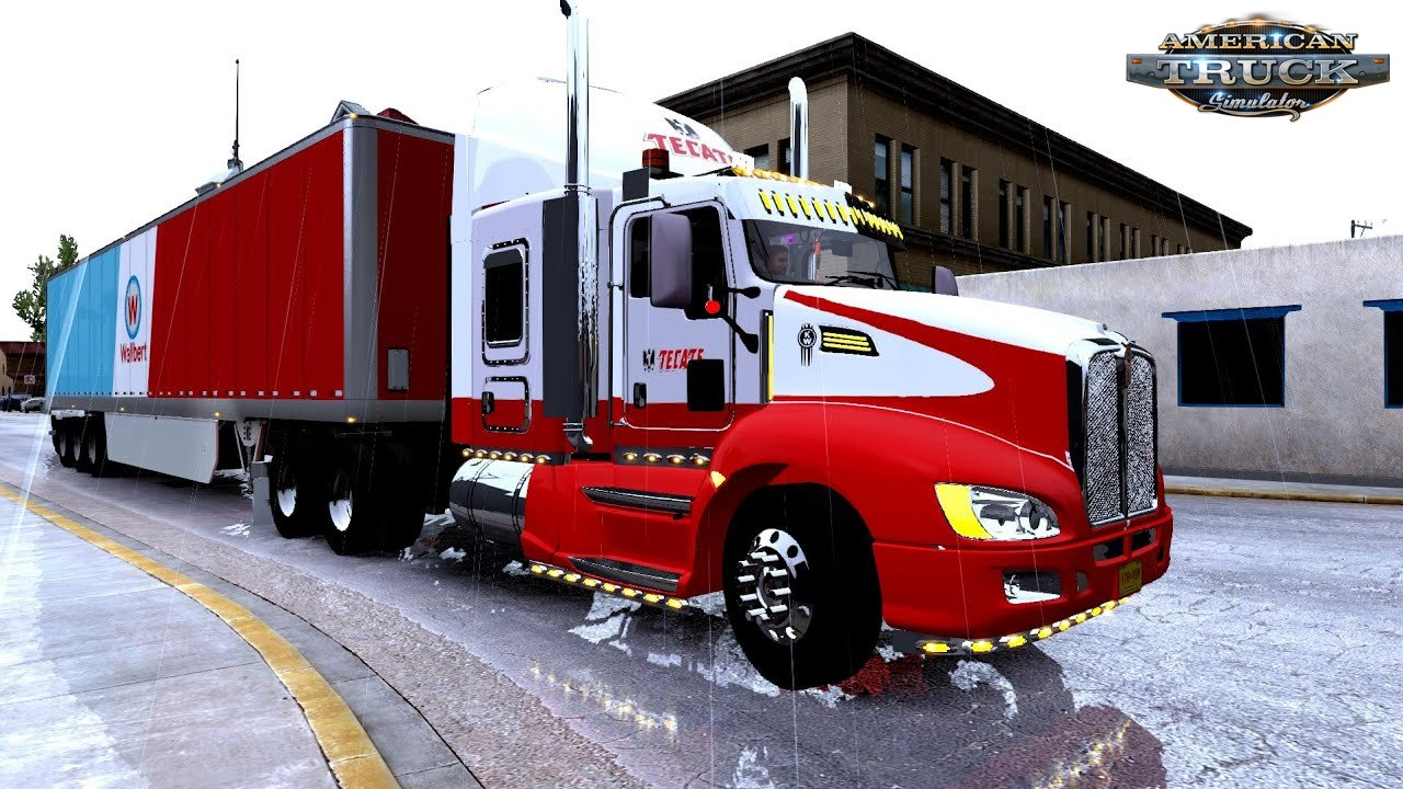 Kenworth T660 + Interior v1.7.2 by Cerritos (1.33.x)