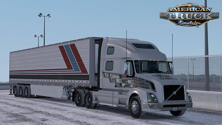 Bridgestone Snowy Truck/Trailer Tires v1.0 by Aradeth (1.33.x)