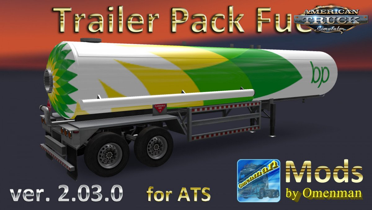 Trailer Pack Fuel v2.0.3 by Omenman (1.33.x)